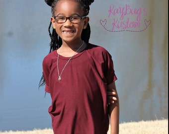 Burgundy Honeybee Tunic, Girls HoneyBee Tunic, Women Honeybee Tunic, Toddler Honeybee Tunic