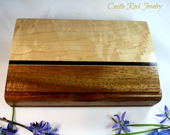 Handmade Wooden Mikutowski Woodworking Jewelry / Trinket Box.