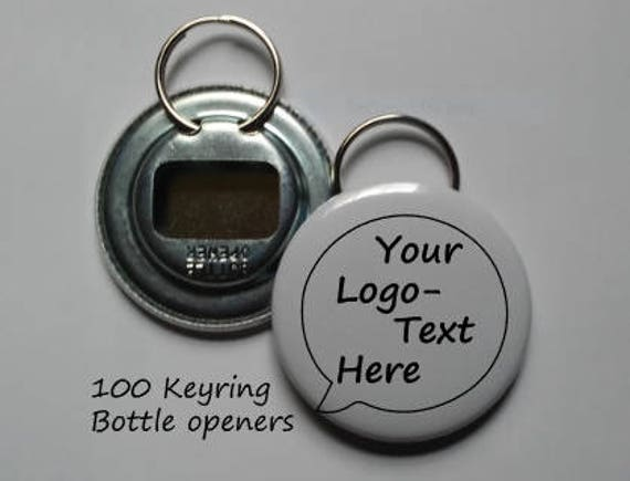 100 customized keychain bottle openers with your own design. Black Bedroom Furniture Sets. Home Design Ideas