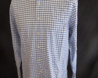 HACKETT blue shirt size L to-65%