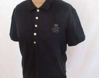 Polo Ralph Lauren vintage black size L at-61%