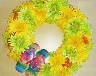 Citrus Summer Wreath