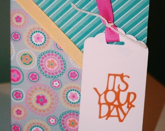 It's Your Day Floral Birthday Card