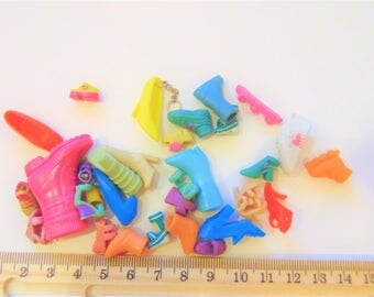 Mix Barbie Polly doll shoes