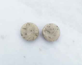 Small Granite Stud Earrings