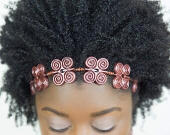 Strength Headband, Joyfulhead headband, Afro, Afrocentric headband, Hair jewelry