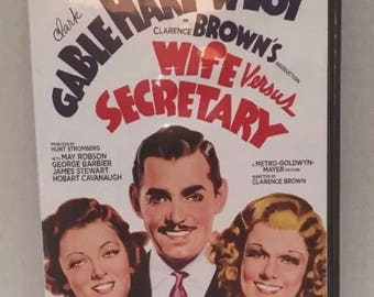 Wife vs secretary dvd clark gable