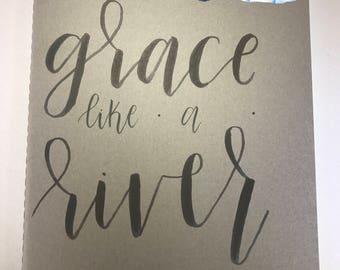 Grace Like a River Moleskine Journal