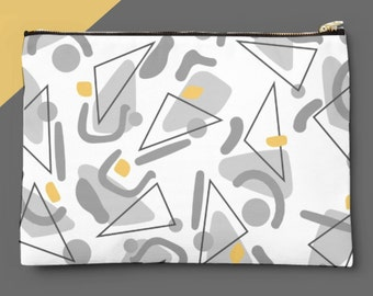 Papak | Large Zip Pouch | Make Up Bag | Clutch Bag | Wash Bag