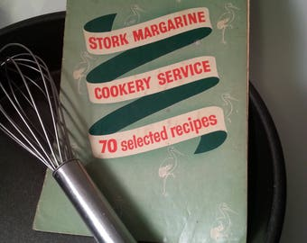 Recipe booklet Stork Margarine Cookery Service