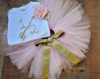 Gold and Pink  Outfit