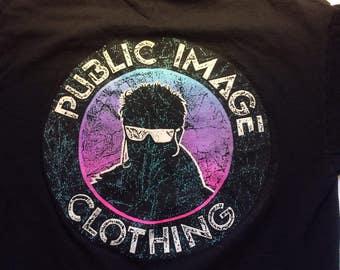 Vintage 80's Public Image Clothing T-Shirt.