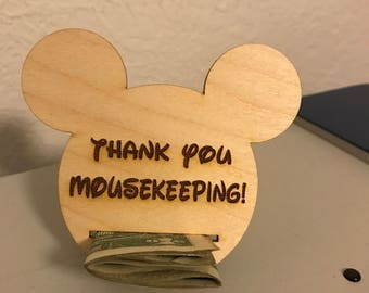 1 Mousekeeping money holder