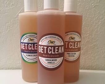 Vegan Handmade Body Wash ~Variety of Scents~ 8 oz.