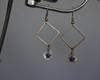 Earrings Pearly stars