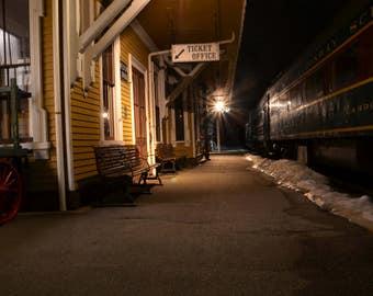 New Hampshire Train Station