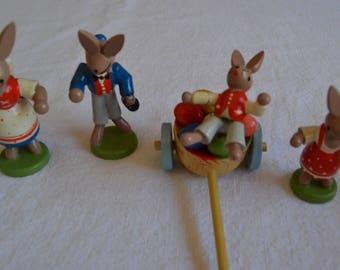 Handmade Easter figurines