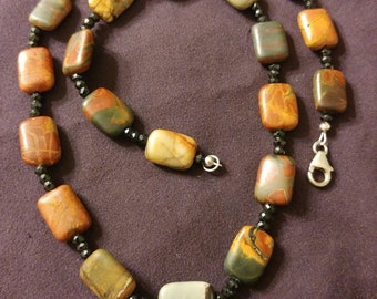 Cherry Creek Jasper Necklace 18""