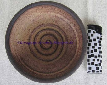 Danish studio pottery Ulrik Lundbergh small bowl