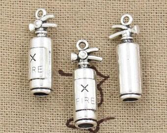 5 Piece Fire Extinguisher Charm