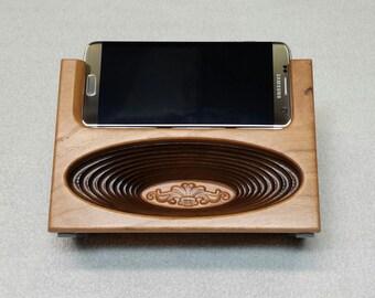 Wireless Wood Speaker Acoustic Speaker Galaxy S 7 Edge Hearing Impaired Wood Amplifier