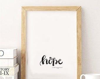 hope (start anywhere)