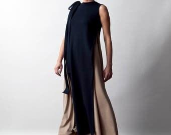 Cotton Jersy Double Dress Sleeveless