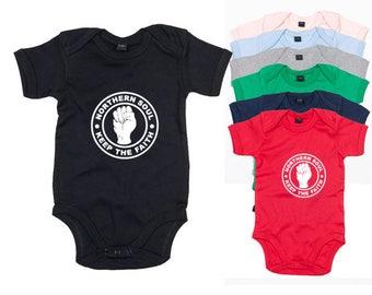 Northern Soul Baby Bodysuit