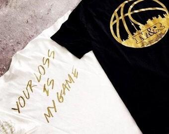 M&R Basketball tshirt