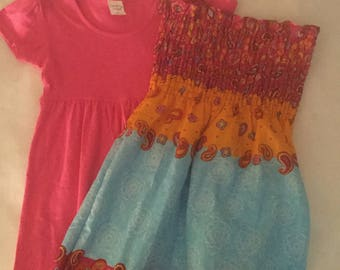 Girls summer dresses and T shirts