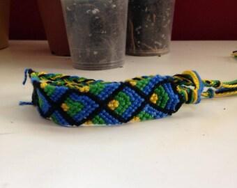 X cross friendship bracelet