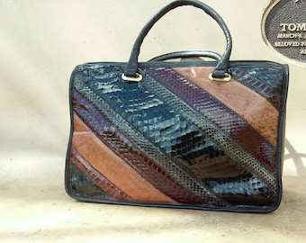 Palizzio Purse Snake Skin 1960s (NEW-Never used Condition)