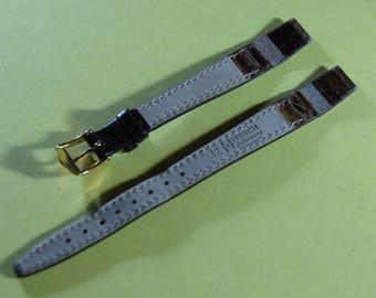 "The brand Fleurus leather ""submariner"" 12 mm watch bracelet"