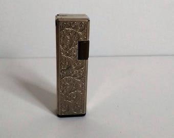Vintage Slender Silver Super Bravo Lighter