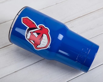 Cleveland Indians YETI Cup Cleveland Indians Cup Cleveland Indians Birthday Cleveland Indians Gift Cleveland Indians Party YETI Tumbler