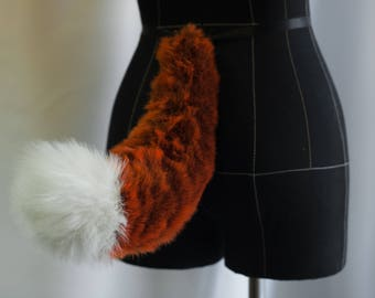 Red Fox Fur Tail