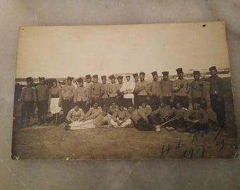 Postcard of a regiment 1909
