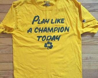 Champion notre dame tee