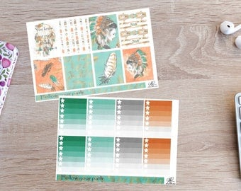 Follow Your Path Full Kit Planner Stickers