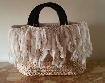 Shabby chic Sling bag