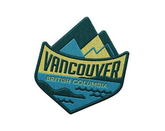 Vancouver British Columbia Travel Patch