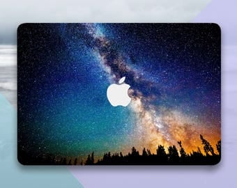 Starry sky MacBook Air 13 Cover Sticker Laptop Decals Macbook Skin Vinyl Macbook Pro Decal Sticker Macbook Pro Retina 13