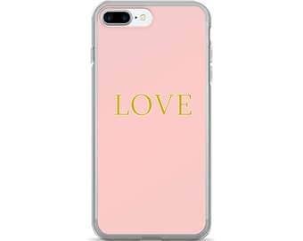 Love - Rubber iPhone Case
