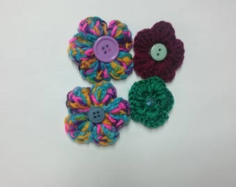 Small Flower Hairclip