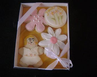 Flower Girl Gift | Bridal Party Gift | Wedding Cookies