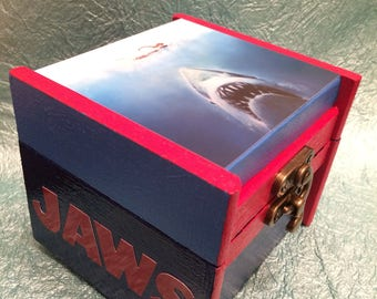 JAWS Stash/Keepsake Box with Lock