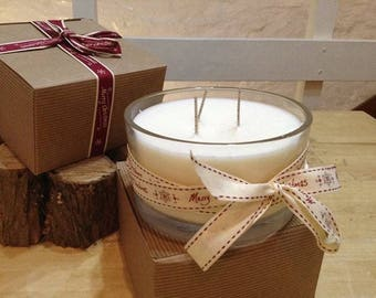 3 Wick Soy Candle.