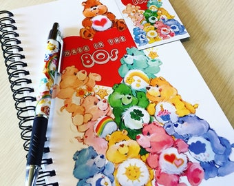 Care Bears 'Made in the 80s' Stationery Set
