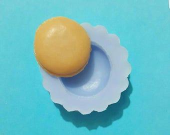 Flexible silicone mold base macaron Matt (random color)
