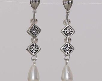 earrings, drop earrings, dangle earrings